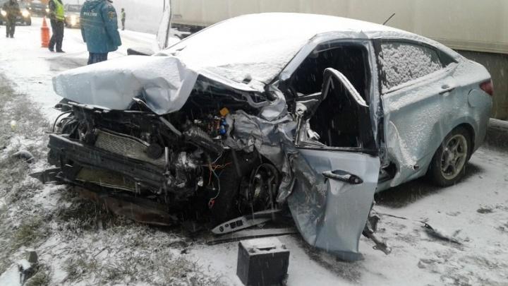 Водитель, устроивший на Южном Урале ДТП с семью пострадавшими, умер в больнице