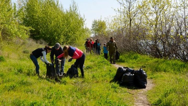 Более двух тысяч жителей Аксайского района вышли на субботник накануне 1 мая