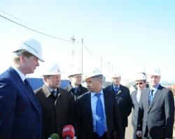 Строительство пермского аэропорта идет с опережением графика на 1,5 месяца