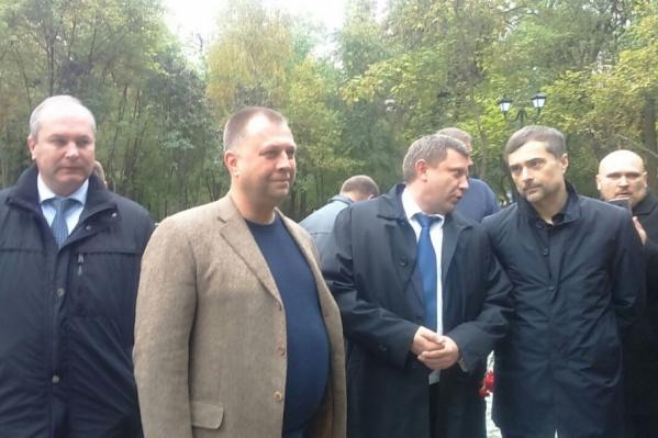 Александр Захарченко и Владислав Сурков готовятся открыть памятник «Героям Донбасса»