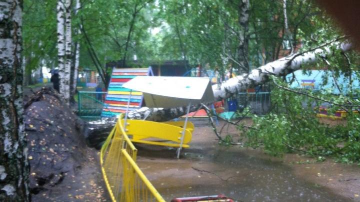 Гроза «отключила» электричество в нескольких ярославских поселках