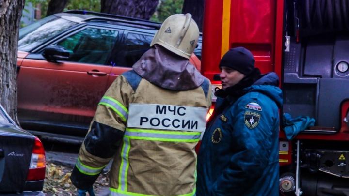 В Ростове сгорел дачный дом: есть погибший