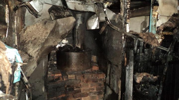 В частной архангельской бане сгорела парилка