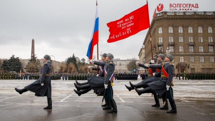 В Волгограде в последний раз отрепетировали парад