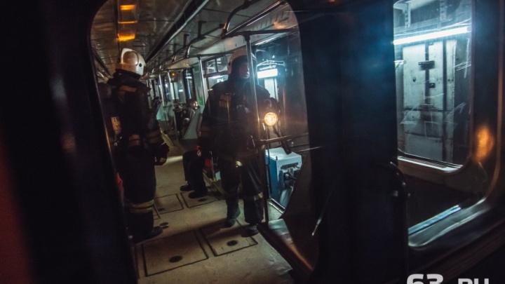В метро Самары накренился поезд по пути на станцию «Победа»