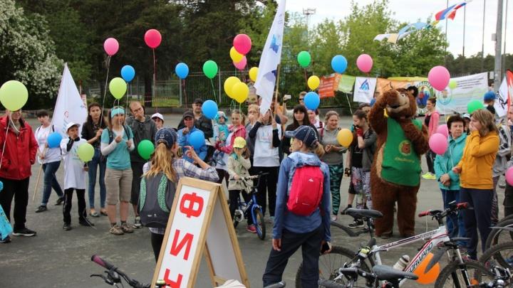 Девушка, которой пересадили лёгкие, приняла участие в челябинском велопробеге