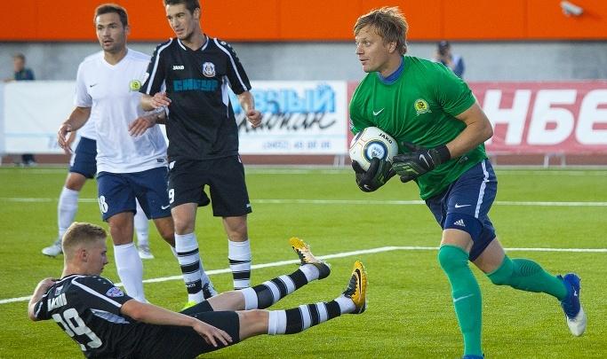 Футболисты «Тюмени» проиграли команде из Владивостока