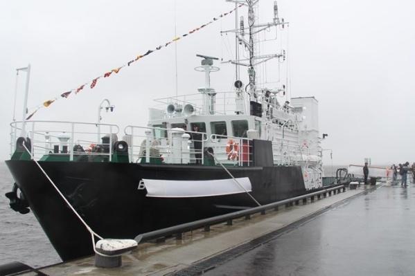 Церемония присвоения имени исследователя состоялась на Красной пристани