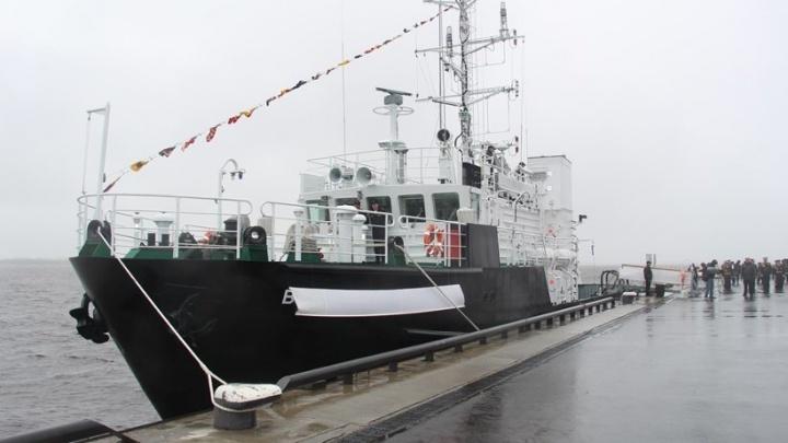 Гидрографическому судну Северного флота присвоено имя известного арктического исследователя