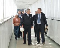 Ростовскую АЭС посетил главный полицейский Дона