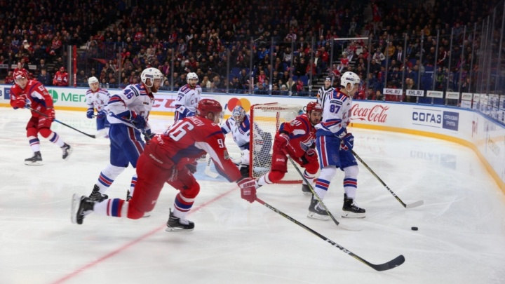 «Локомотив» уступил СКА: для ярославцев битва за Кубок Гагарина закончилась