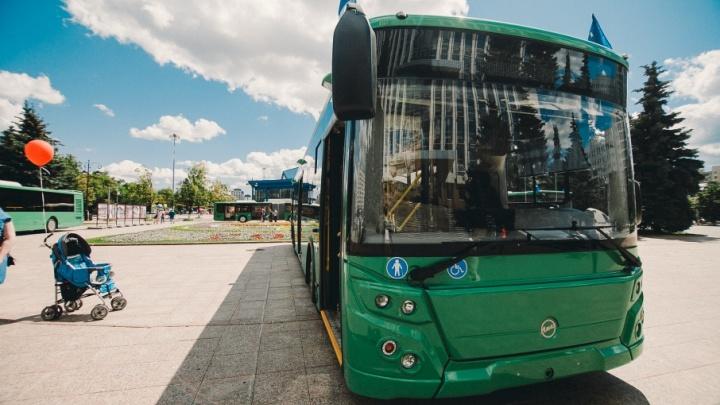 Тюменские автобусы проложат дорогу беспилотным автомобилям