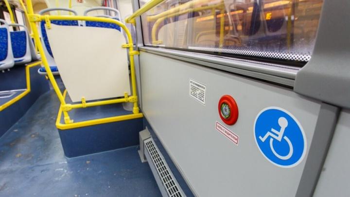 В поселке Гумрак на замену закрытым маршрутам вышел один автобус
