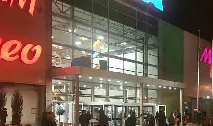 В Аксае оцепили ТЦ «Мега» из-за сообщения о заминировании