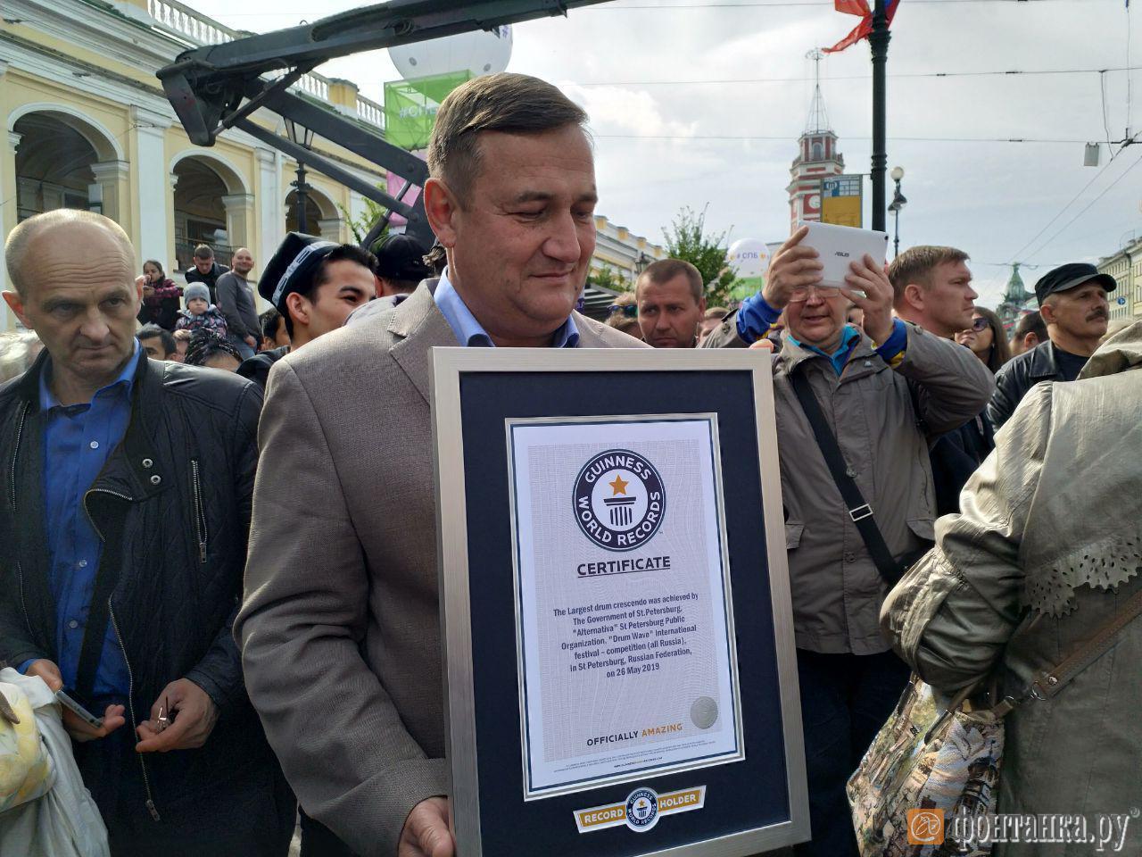 Председатель Комитета по культуре Константин Сухенко уже получил сертификат