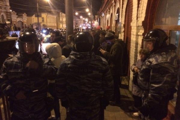 И полицейские, и сторонники Навального друг друга не провоцировали