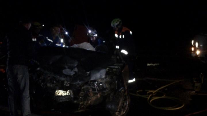 Лобовое столкновение на трассе «Ярославль—Кострома»: один человек погиб