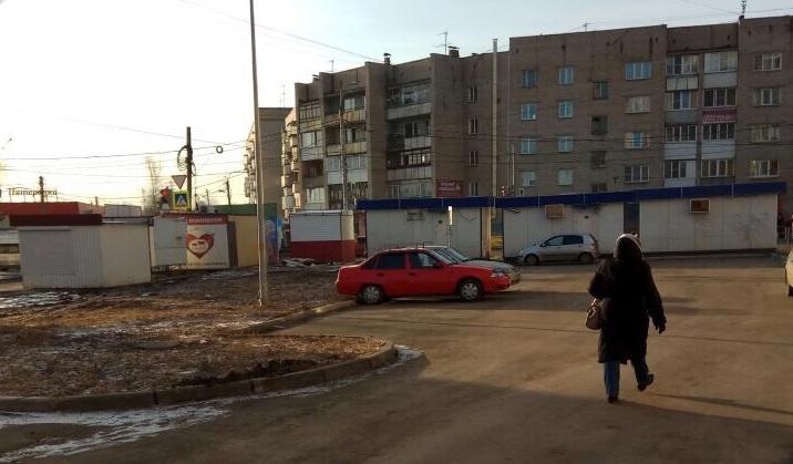 Убранные с улицы Шагольской киоски возвращаются вновь