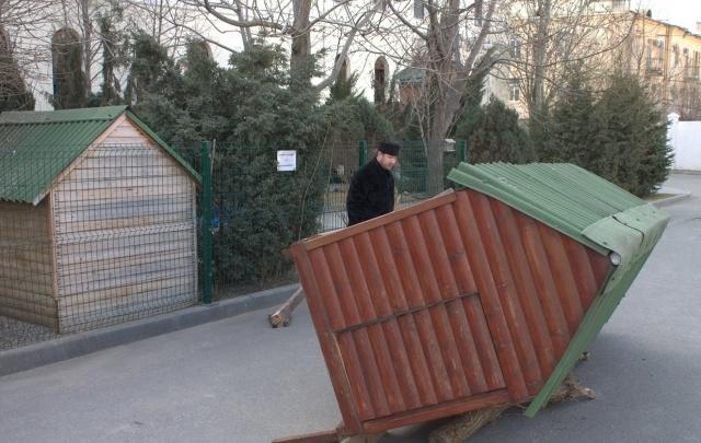 Свято-Духов монастырь подарил вольеры волжскому зоодворику