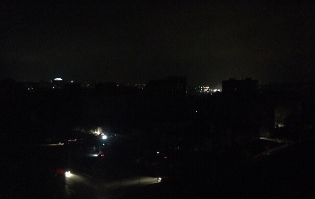 В Ростове Северный погрузился в темноту