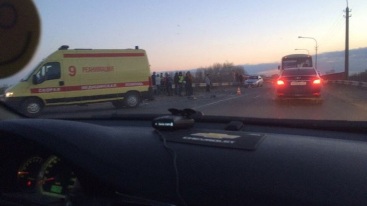 Тройное ДТП в Архангельске: есть пострадавшие