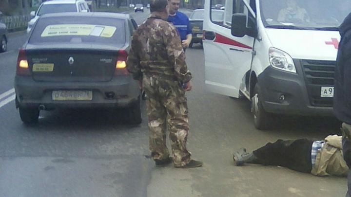 Сбитый в Дзержинском районе Ярославля пешеход скончался в больнице