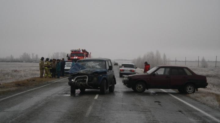 Роковой обгон: в ДТП на южноуральской трассе погибли два человека