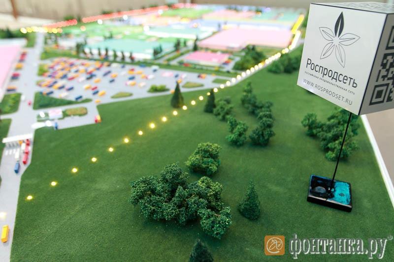 проект строительства промышленно-логистического комплекса «Роспродсеть»