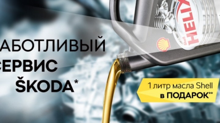 Заботливый сервис SKODA в «Волга-Раст-Октава» в ноябре