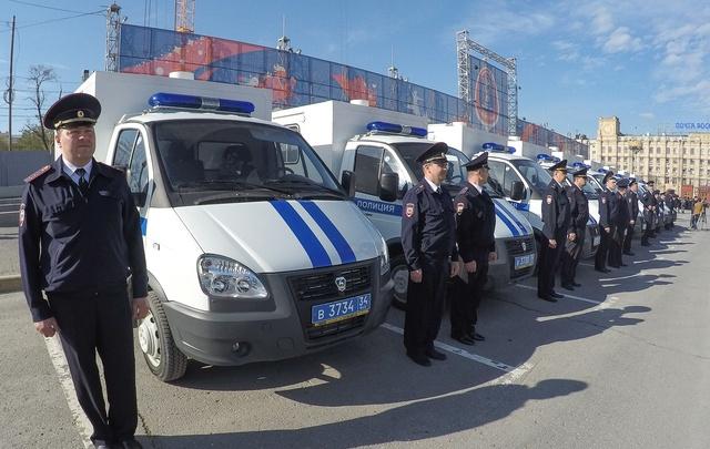 Волгоградская полиция отметила 98-летие
