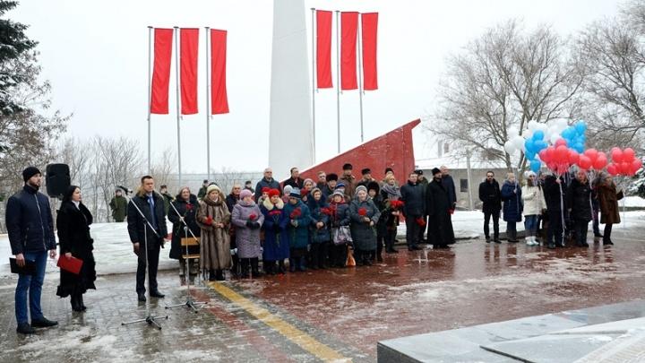 Жители Аксайского района вышли на митинг памяти о фашистской оккупации