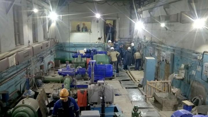 В Волгограде завершилась модернизация насосной станции «Елабужская»