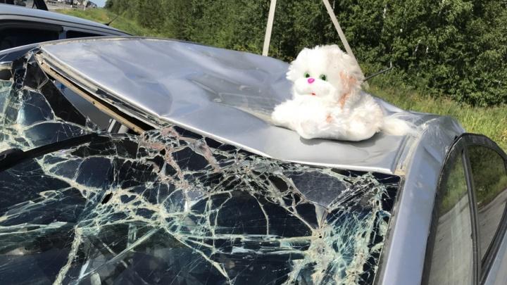 Жуткие последствия смертельных ДТП показали тюменцам на экспозиции разбитых автомобилей