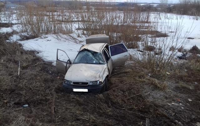 В аварии на прикамской трассе по вине пьяного водителя пострадали два пассажира