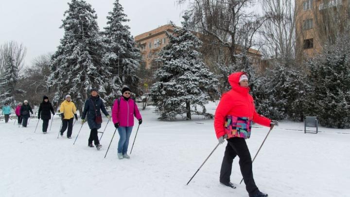 Потепление в Волгограде выгнало из домов на улицу сотни горожан