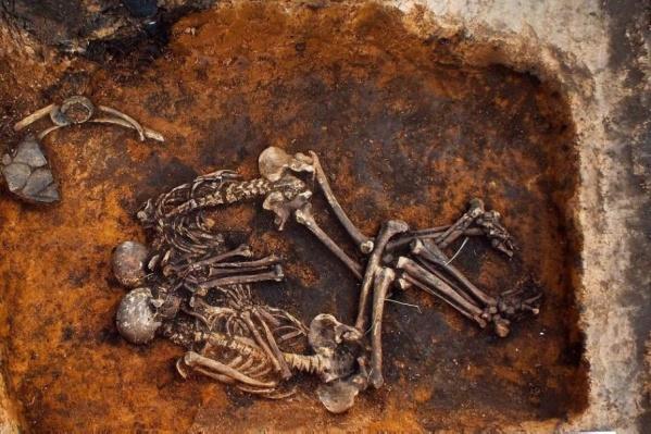 Ученые исследовали останки девяти человек