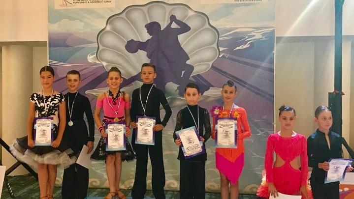 Челябинские танцоры взяли полный комплект медалей соревнований на Кипре