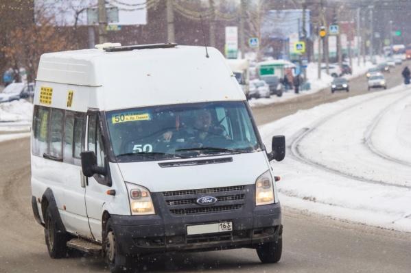 Городской транспорт уже на маршруте