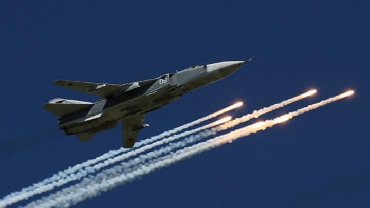Под Волгоградом фронтовые бомбардировщики сбросили около ста авиабомб