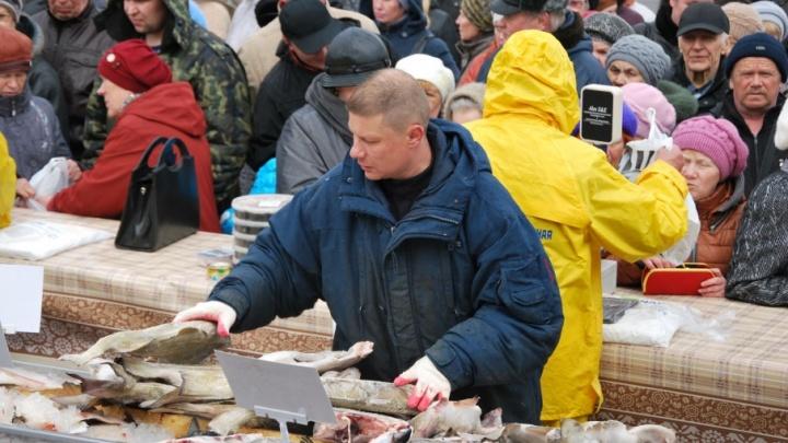 Лови, пока не уплыла: на Маргаритинке будут торговать рыбой со скидкой