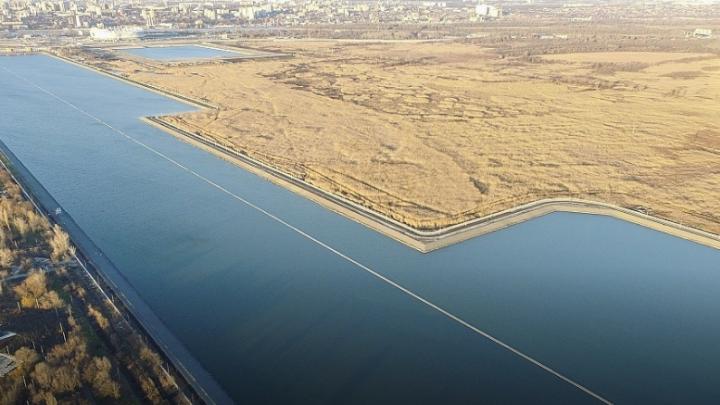 Углубили дно и построили дамбу: в Ростове завершилась реконструкция гребного канала