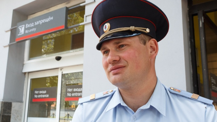 Полицейский с вокзала Волгоград-1 спас девушку-подростка от смерти
