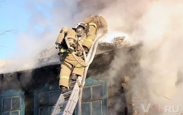 Под Волгоградом в пожаре погиб 36-летний мужчина