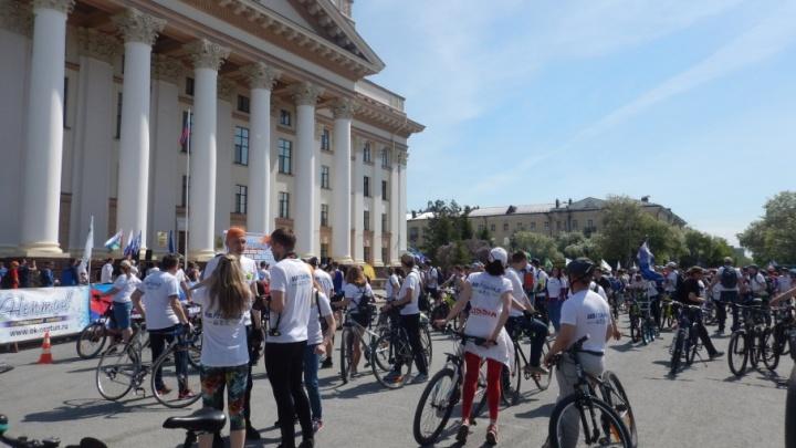 Сегодня остаёмся дома: организаторы перенесли тюменский велопарад на июнь