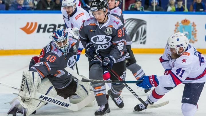 «Нам важно было забить первыми»: хоккеисты «Лады» с разгромным счетом проиграли СКА