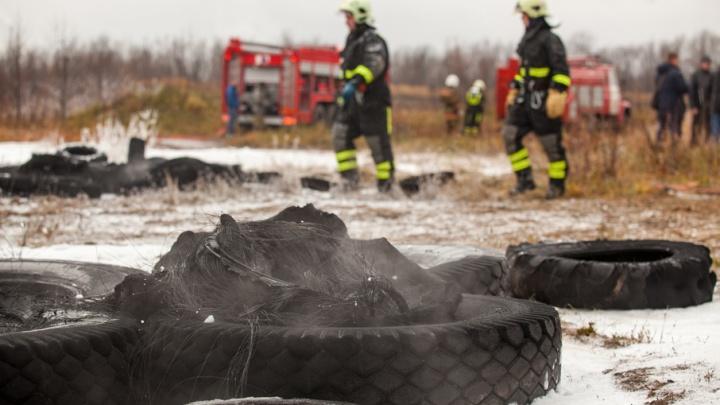 За сутки в Поморье горело два автомобиля