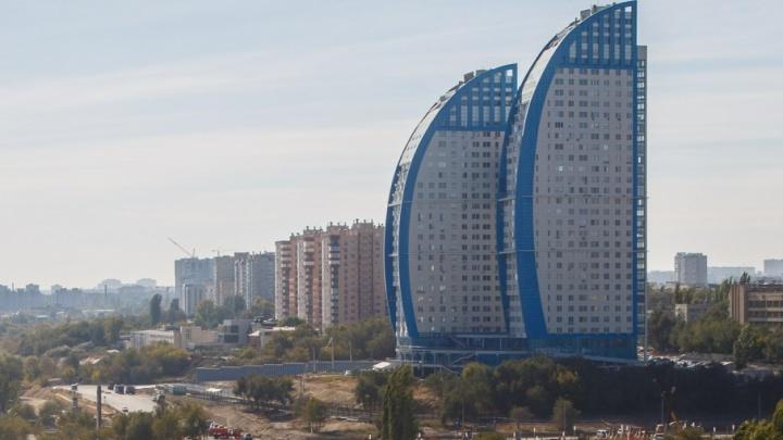 В Волгограде управляющие компании делят «Волжские паруса»