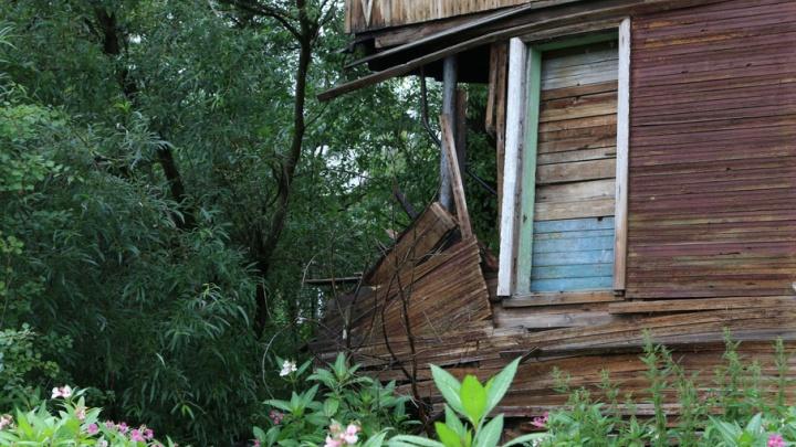 Заколдованная улица в Соломбале: на Советской рухнул угол жилого дома