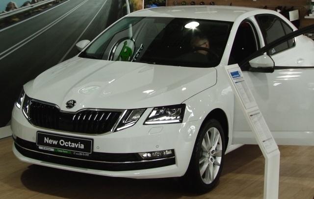 В Самаре автосалон «Град-Авто» представил новую ŠKODA Octavia