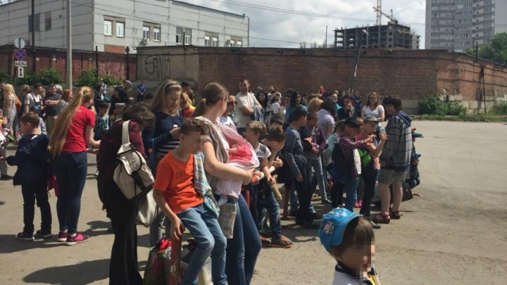 В Самаре детей эвакуировали из кинотеатра в ТРК «Гудок»